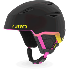 Giro Envi MIPS Casque Femme, matte black/neon lights